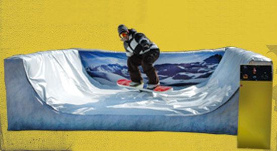 simulateur snow board